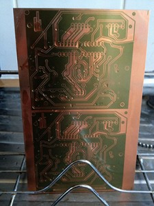 UV Exposed PCB