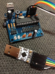 CP2012 FTDI Module and minDUINO v1.4