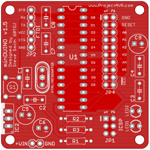 minDUINO V1.5 Gerblook Preview