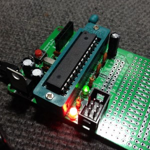 minDUINO v1.7 Prototyping Edition Built & Tested