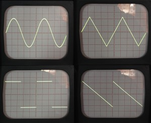 Oscilloscope Scans