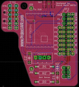minDUINO v1.6 UKHASNet Daughter Board