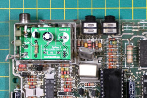 Spectrum Composite Mod PCB In Place