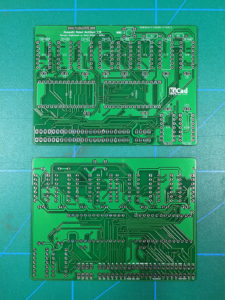 Recreated Multiface PCB Front and Back