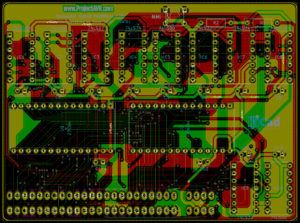 Spectrum Multiface 128 v1.00 KiCad Preview