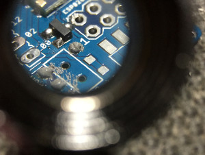 SMD Soldering by hand