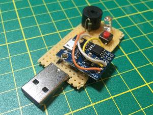 ATTiny85 Clapper v1.2 Prototype