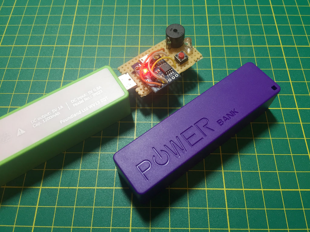 ATTiny85 Clapper v1.2 with Powerbanks