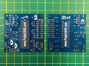 minDUINO v1.6k Front and Back