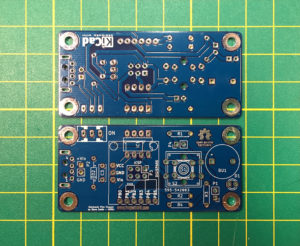 Electronic Film Clapper v1.3 PCBs Front and Back