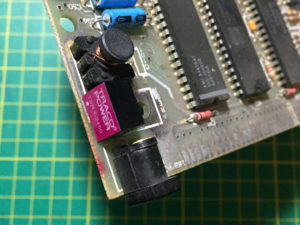 TRACO Regulator Soldered In Place