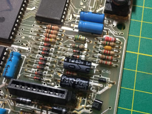 Two Capacitors Replaced