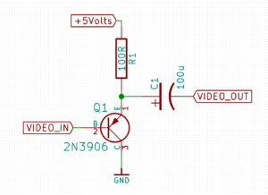 Video Mod Schematic