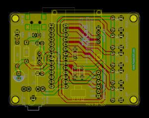 TZXDuino Compact v1.00 KiCad Preview