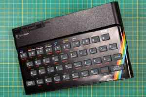 Sinclair ZX Spectrum - Showing Dents