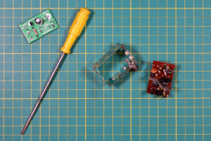 Modulator's PCB Removed