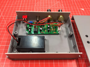 CW Practice Oscillator Internals from the Rear